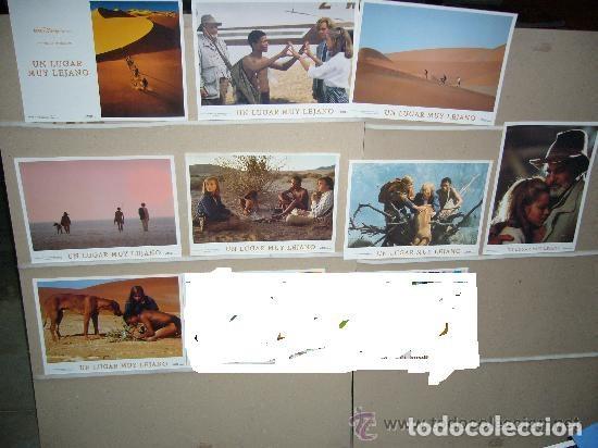 UN LUGAR MUY LEJANO DISNEY 8 FOTOCROMOS ORIGINALES Q (Cine - Fotos, Fotocromos y Postales de Películas)