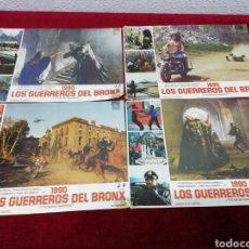 Cine: LOS GUERREROS DEL BRONX. MEDIDAS 34X24CM. 8 UNIDADES. Lote 154798221