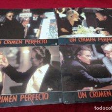 Cine: UN CRIMEN PERFECTO. 34X24CM. 4 UNIDADES . Lote 154800450