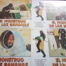 Cine: EL MONSTRUO DE LAS BANANAS. 34X24CM. 12 UNIDADES. Lote 154902114