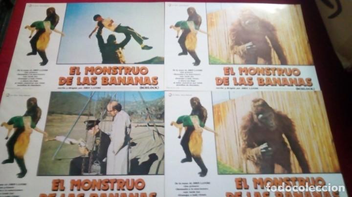 Cine: El monstruo de las bananas. 34x24cm. 12 unidades - Foto 2 - 154902114