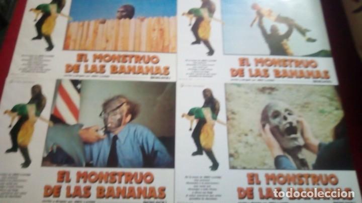 Cine: El monstruo de las bananas. 34x24cm. 12 unidades - Foto 3 - 154902114