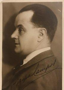Gaspar Campos. Actor teatral. Editorial fotográfica nº 190. Sin circular
