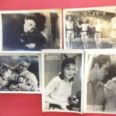 Cine: LOS 4 DIABLOS. JANET GAYNOR. LOTE DE 5 POSTALES ESTRENO DE LA PELÍCULA. AÑOS 1920S. Lote 155267874