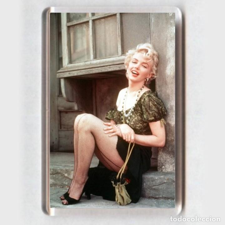 IMAN ACRÍLICO NEVERA - CINE # MARILYN MONROE (Cine - Fotos y Postales de Actores y Actrices)