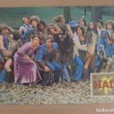 Cine: HAIR / MILOS FORMAN / JOHN SAVAGE / JUEGO ORIGINAL 8 FOTOCROMOS ESTRENO. Lote 155760950