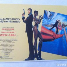 Cine: OO7 - A VIEW TO A KILL. Lote 155788586