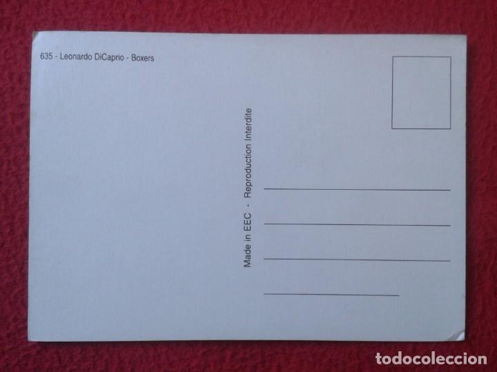 Cine: POSTAL POST CARD CARTE POSTALE LEONARDO DICAPRIO - BOXERS ACTOR DE CINE ACTEUR VER FOTOS Y DESCRIPCI - Foto 2 - 155814846