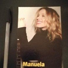 Cine: TARJETA PAPEL GRUESO -10*15- MANUELA VELLES - COLE - PERFIL. Lote 155875166