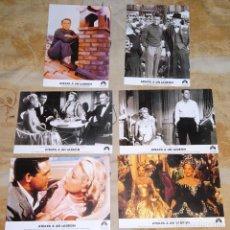 Cine: 6 FOTO POSTALES DE CINE CLÁSICO. AÑO 2005. PELÍCULA ATRAPA A UN LADRÓN. CARY GRANT GRACE KELLY. Lote 155900898