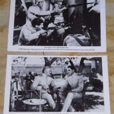 Cine: 2 FOTO POSTALES CINE CLÁSICO. AÑO 2009. LA CARGA DE LA BRIGADA LIGERA 1936. Lote 155901926