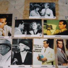 Cine: 8 FOTO POSTALES CINE CLÁSICO. AÑO 2004 PELÍCULA CHINATOWN 1974. JACK NICHOLSON FAYE DUNAWAY. Lote 155904258