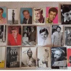 Cine: LOTE DE 56 FOTOGRAFÍAS Y FOTOFILMS ORIGINALES. Lote 156458390