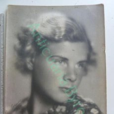 Cine: FOTO ACTRIZ. DEDICADA. 1935. (24 X 18,5 CM). Lote 156479414