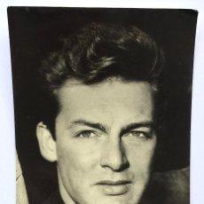 Cine: POSTAL ROBERTO RISSO - ACTOR ITALIANO - PARIS PALACE HOTEL - BENGALA FILMS 1957 - ESCRITA. Lote 156759790