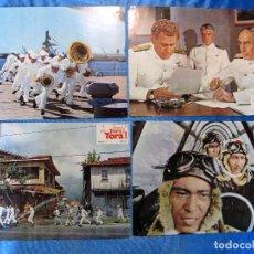 Cine: LOBBY CARD. 11 FOTOCROMOS. TORA ! TORA ! TORA ! . MARTIN BALSAM, SO YAMAMURA, JASON ROBARDS, 1971.. Lote 157683742