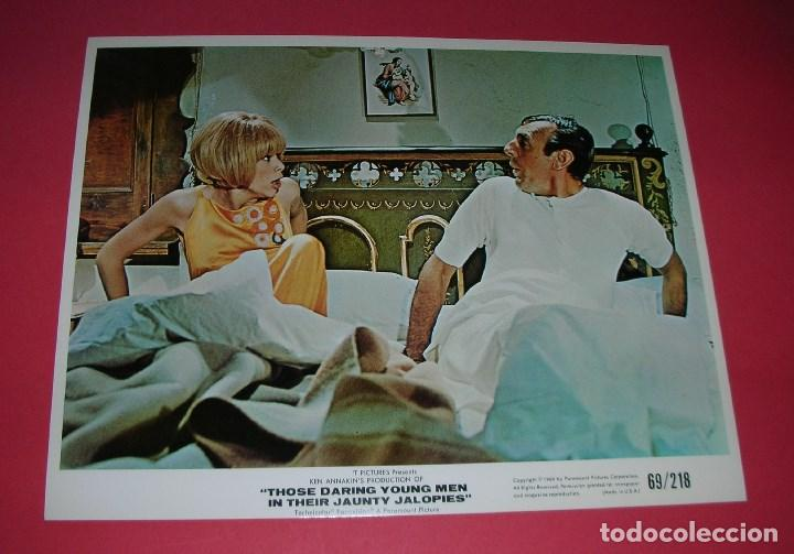 Cine: Lobby Cards 10 Those Daring Young Men in Their Jaunty Jalopies,1969 25x20cm RALLY MONTECARLO+ LIBRO - Foto 9 - 157895354