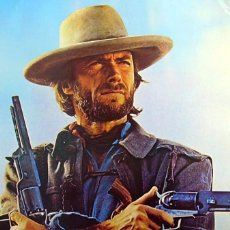 Cine: PÓSTER CLINT EASTWOOD (53 X 78 CM.). Lote 157925578