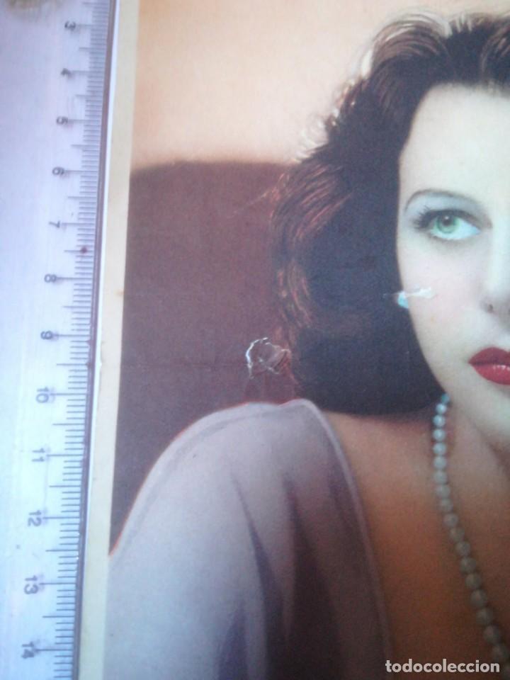 Cine: Hedy Lamarr Metro Goldwyn Mayer publicidad Novocrema (27F) - Foto 2 - 158519718