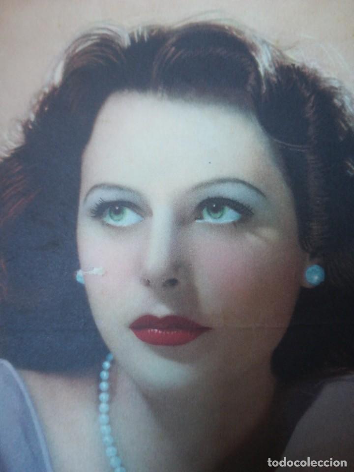 Cine: Hedy Lamarr Metro Goldwyn Mayer publicidad Novocrema (27F) - Foto 3 - 158519718