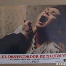 Cine: EL DESTRIPADOR DE NUEVA YORK / LUCIO FULCI / JUEGO COMPLETO ORIGINAL 12 FOTOCROMOS ESTRENO. Lote 159334102