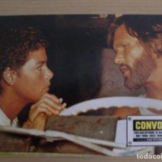 Cinema: CONVOY / KRIS KRISTOFFERSON / ALI MACGRAW / JUEGO ORIGINAL 13 FOTOCROMOS ESTRENO. Lote 159443538