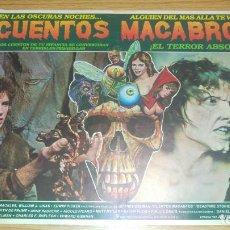 Cine: FOTOCROMO LOBBY MEXICANO. CUENTOS MACABROS. Lote 159452410