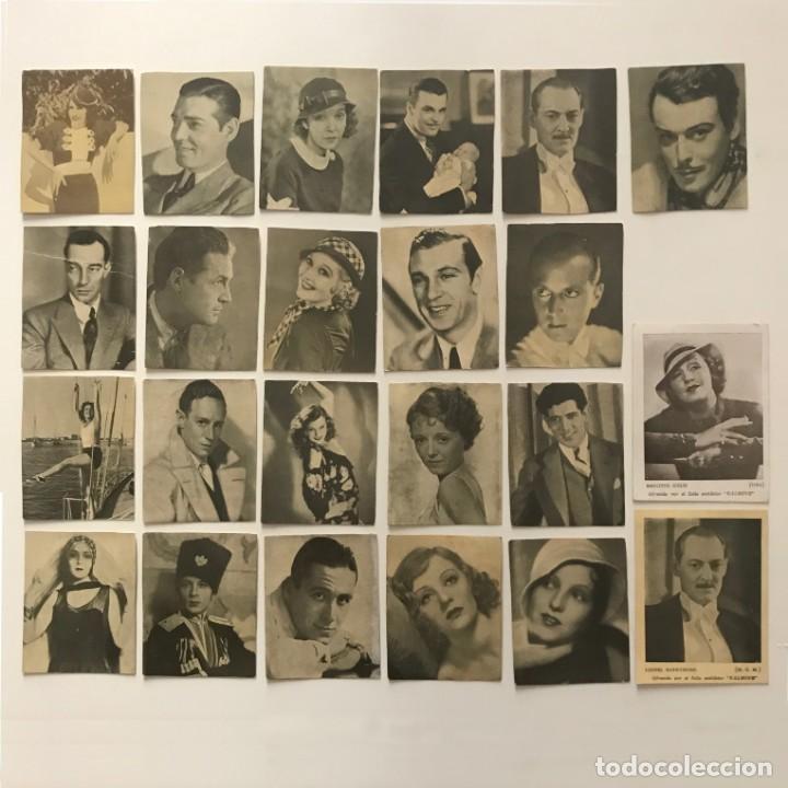 Cine: Lote de fotos de actrices y actores. Medidas desde 6x7,5 cm hasta 7x9,3 cm - Foto 2 - 159586458
