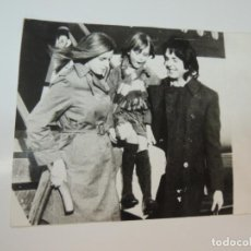 Cine: PAUL MCCARTNEY LINDA EASTMAN THE BEATLES - FOTO ORIGINAL PRENSA 1969. Lote 160350446