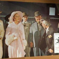 Cinéma: FOTOCROMO O LOBBY EL JUEZ DE LA HORCA.PAUL NEWMAN AVA GARDNER.34X24 CM. Lote 162017037