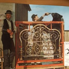Cinéma: FOTOCROMO O LOBBY EL JUEZ DE LA HORCA.PAUL NEWMAN AVA GARDNER.34X24 CM. Lote 162017068