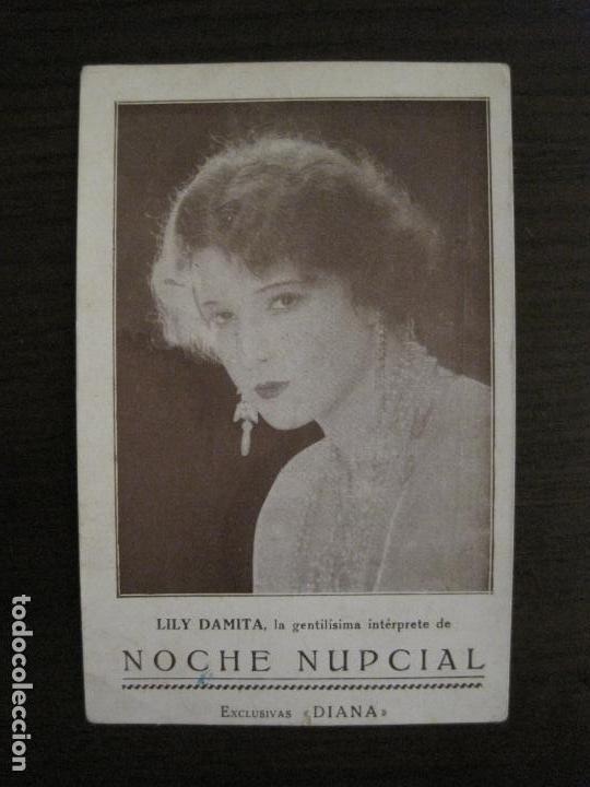 NOCHE NUPCIAL-LILY DAMITA-PROGRAMA DE CINE-EXCLUSIVAS DIANA-VER FOTOS-(C-4261) (Cine - Fotos y Postales de Actores y Actrices)