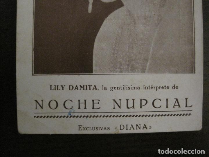 Cine: NOCHE NUPCIAL-LILY DAMITA-PROGRAMA DE CINE-EXCLUSIVAS DIANA-VER FOTOS-(C-4261) - Foto 2 - 162767974