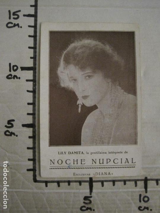 Cine: NOCHE NUPCIAL-LILY DAMITA-PROGRAMA DE CINE-EXCLUSIVAS DIANA-VER FOTOS-(C-4261) - Foto 4 - 162767974
