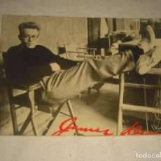 Cine: ANTIGUA FOTO DE JAMES DEAN . 24 X 17 CM.. Lote 164657646