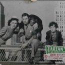 Cine: XS38D TARZAN JOHNNY WEISSMULLER 5 FOTOCROMOS CARTON ORIGINAL ESPAÑOLES. Lote 165258930