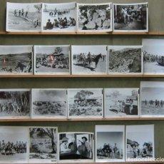 Cine: F29093D LA LEY DEL LATIGO MAUREEN O'HARA PETER LAWFORD SET 19 FOTOS B/N ORIGINALES AMERICANAS. Lote 165619566