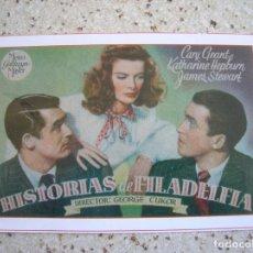 Cine: CARTEL DE LA REVISTA INTERFILMS ,HISTORIAS DE FILADELFIA. Lote 166412342