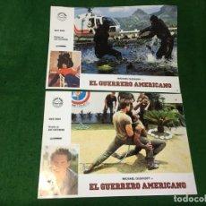 Cine: FOTOCROMOS PELICULA EL GUERRERO AMERICANO. Lote 167547608