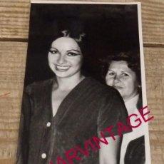 Cine: ANTIGUA FOTOGRAFIA DE LA ACTRIZ SARA LEZAMA, 75X190MM. Lote 167938272