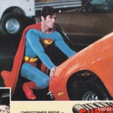 Cine: SUPERMAN IV. EN BUSCA DE LA PAZ. 5 FOTOCROMOS. Lote 168197928