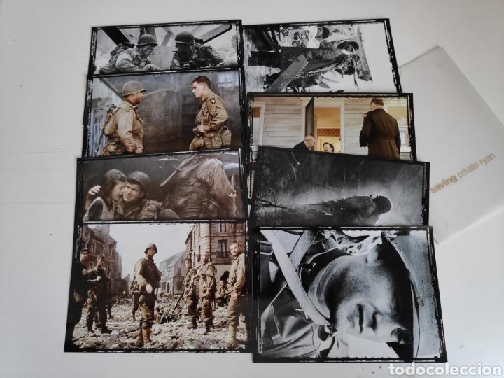 SALVAR AL SOLDADO RYAN. COLECCION DE 8 FOTOS ORIGINALES DE LA PELICULA (Cine - Fotos, Fotocromos y Postales de Películas)