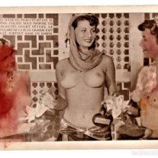 Cine: CINE,FOTOGRAFIA ORIGINAL PROMOCIONAL,AÑO 1953 PELICULA CON SOFIA LOREN SEMI DESNUDA,VERSION FRANCESA. Lote 169932400
