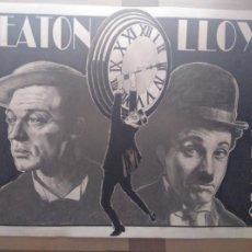 Cine: 3 REYES MUDOS - DIBUJO ORIGINAL A GRAFITO, FIRMADO. 42X30 CM. (A3).. Lote 179520090
