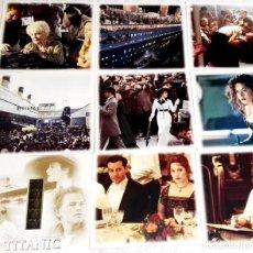 Cine: COLECCIÓN DE FOTOGRAFÍAS Y FOTOGRAMA DE LA PELÍCULA TITANIC / 21X19CM. Lote 170342496