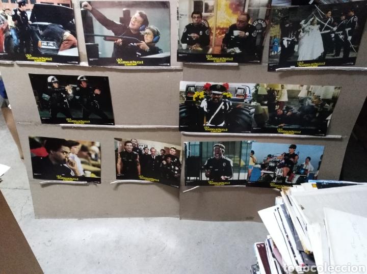 LOCA ACADEMIA DE POLICÍA 2 SU PRIMERA MISIÓN 13 FOTOCROMOS ORIGINALES B2 (1078) (Cine - Fotos, Fotocromos y Postales de Películas)