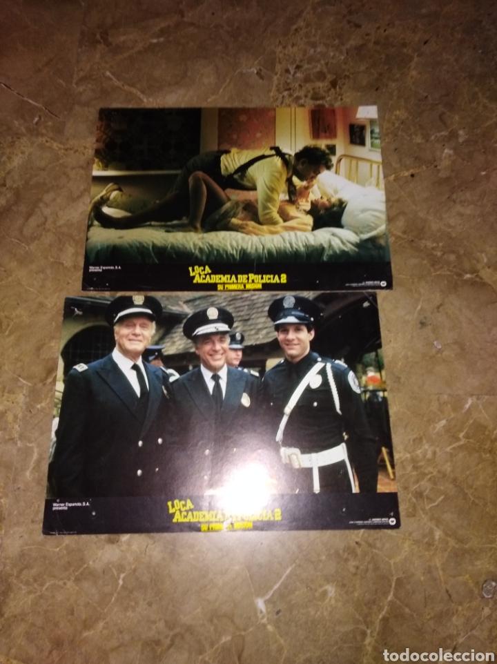 Cine: LOCA ACADEMIA DE POLICÍA 2 SU PRIMERA MISIÓN 13 FOTOCROMOS ORIGINALES B2 (1078) - Foto 2 - 170346962