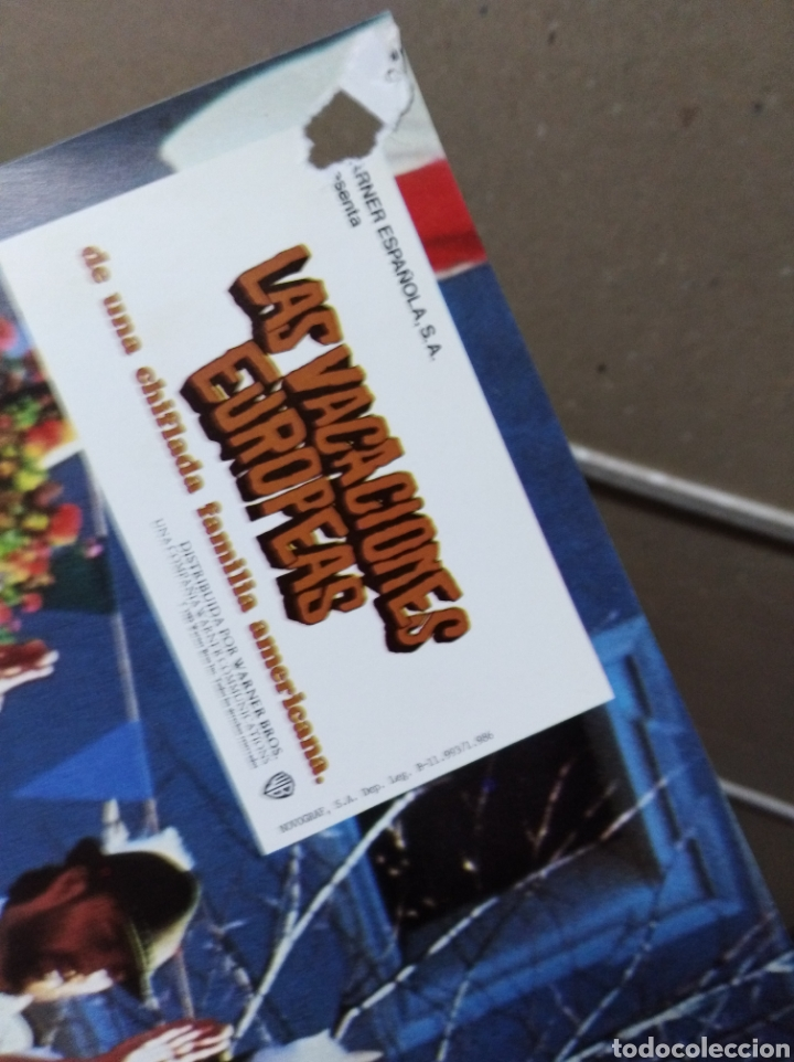Cine: LAS VACACIONES EUROPEAS DE UNA CHIFLADA FAMILIA AMERICANA CHEVY CHASE JUEGO COMPLETO B2 (1085) - Foto 2 - 170955304