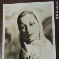 Cine: FRANCES DRAKE - FOTO ORIGINAL B/N - HOLLYWOOD STAR SMOKING PARAMOUNT PICTURES. Lote 171139038