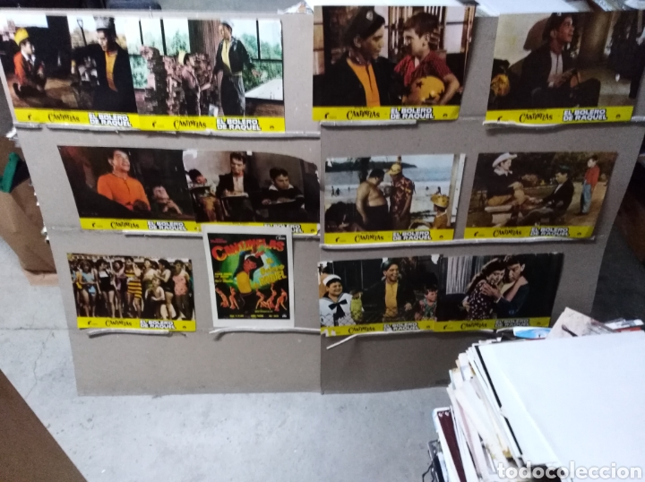 EL BOLERO DE RAQUEL CANTINFLAS JUEGO COMPLETO B2(1087) (Cine - Fotos, Fotocromos y Postales de Películas)